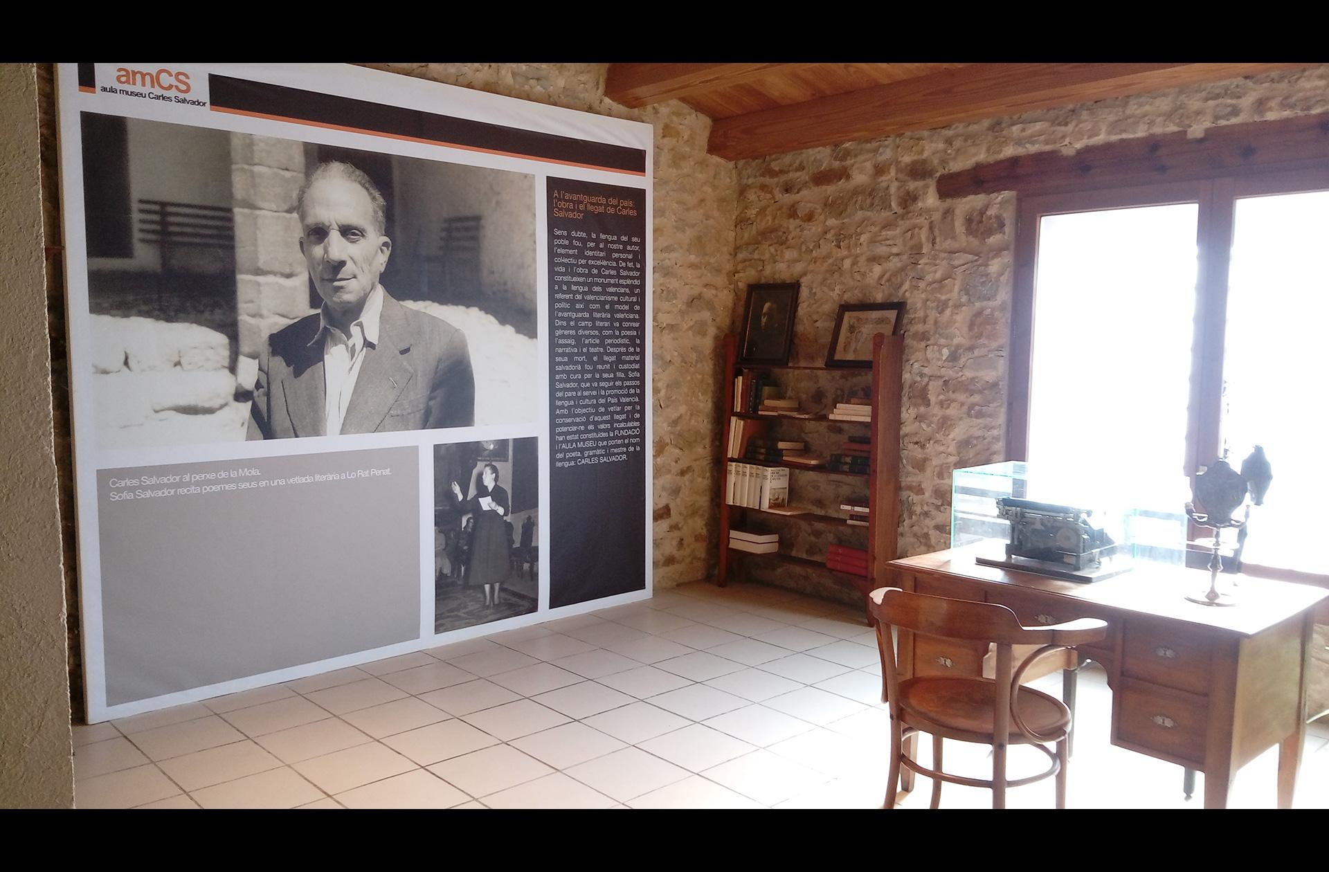 Aula Museo Carles Salvador maestro Benassal