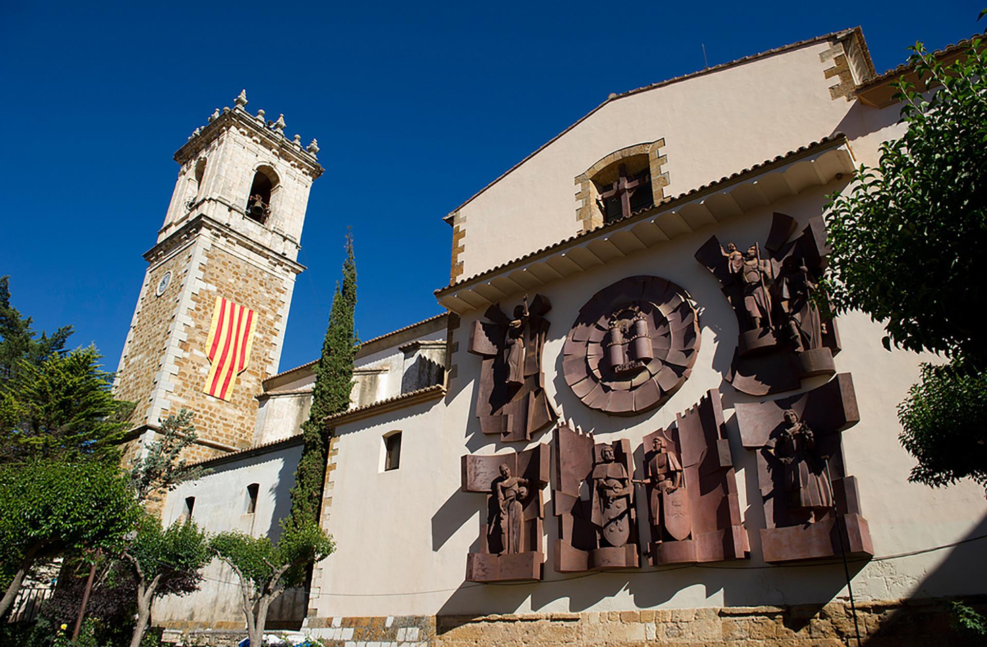 casco histórico de benassal