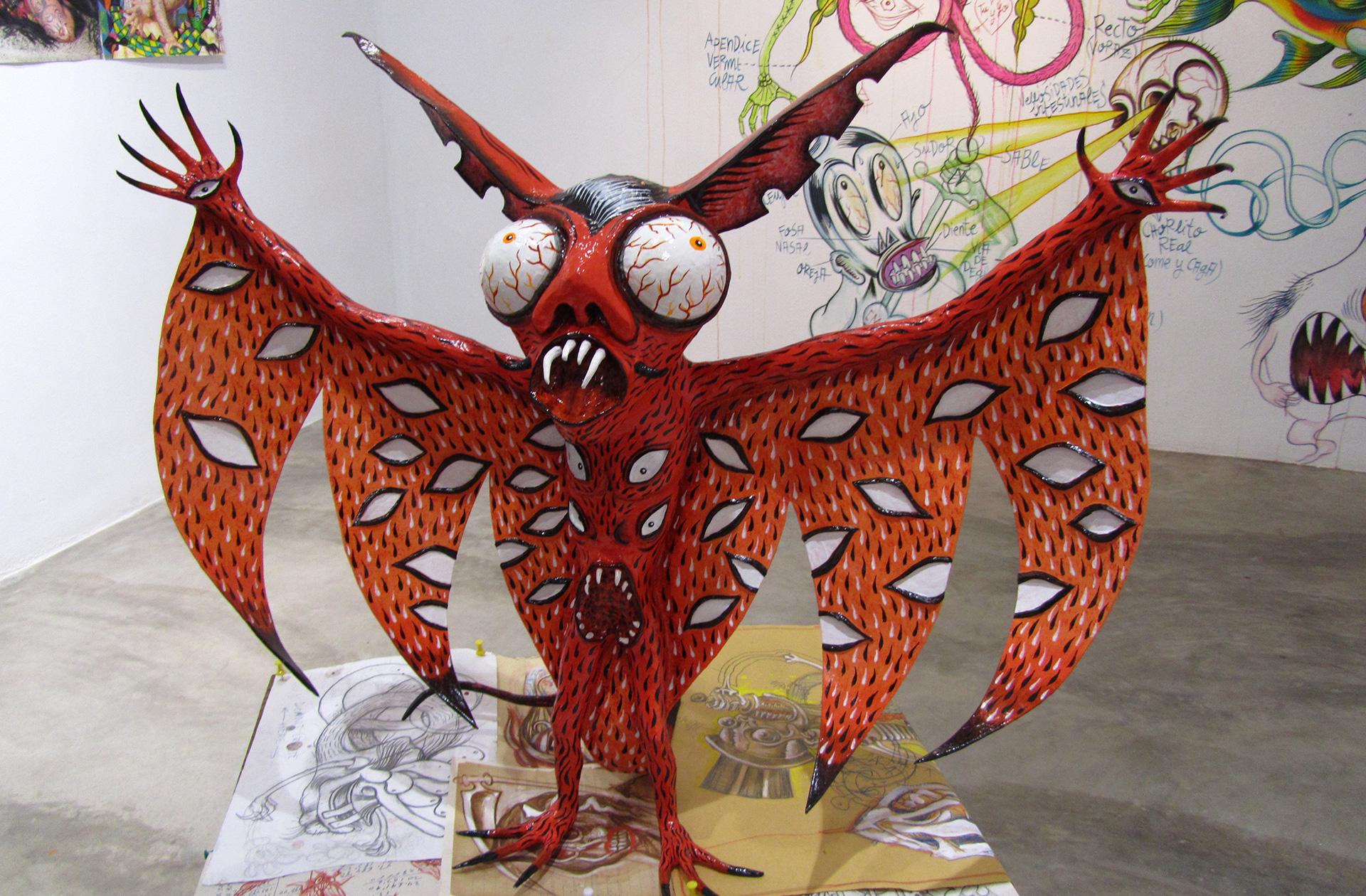 Exposición esculturas Coll Blanc Castellón