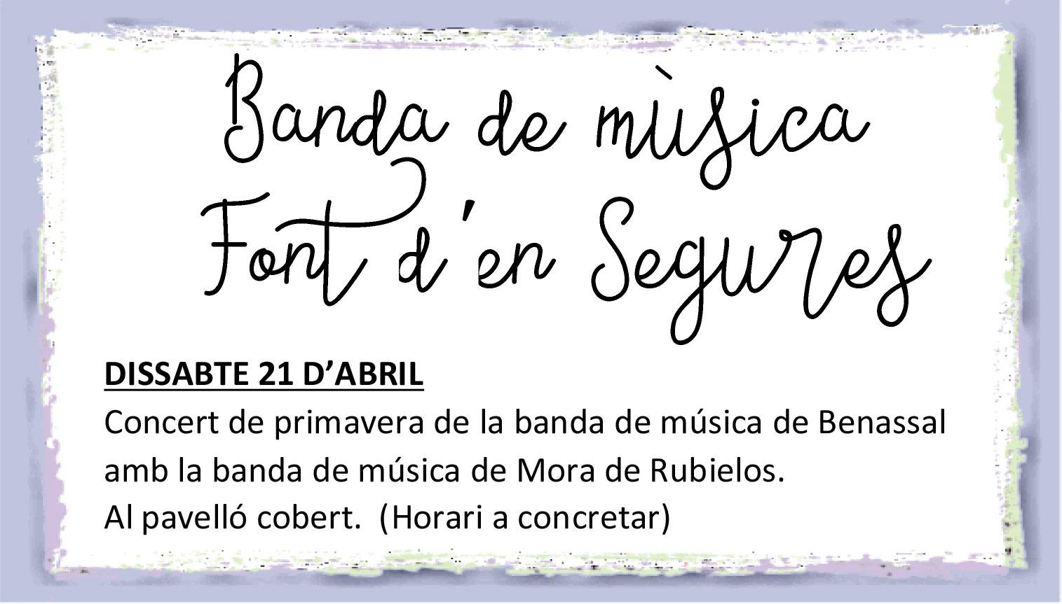 Banda música Font d'en Segures