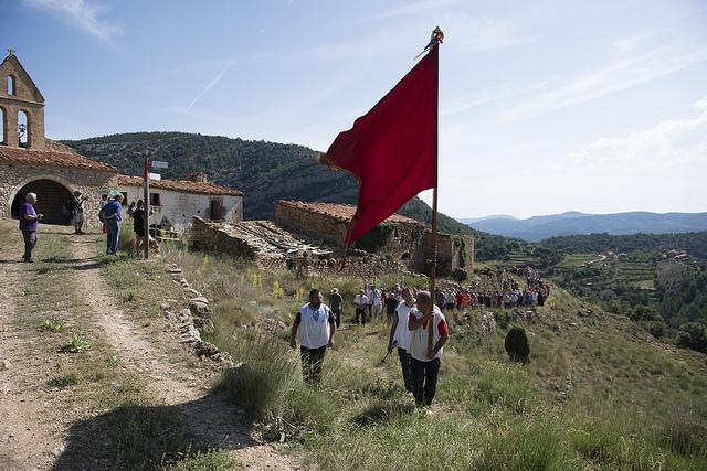 Rogativa de Culla a Sant Joan de Penyagolosa