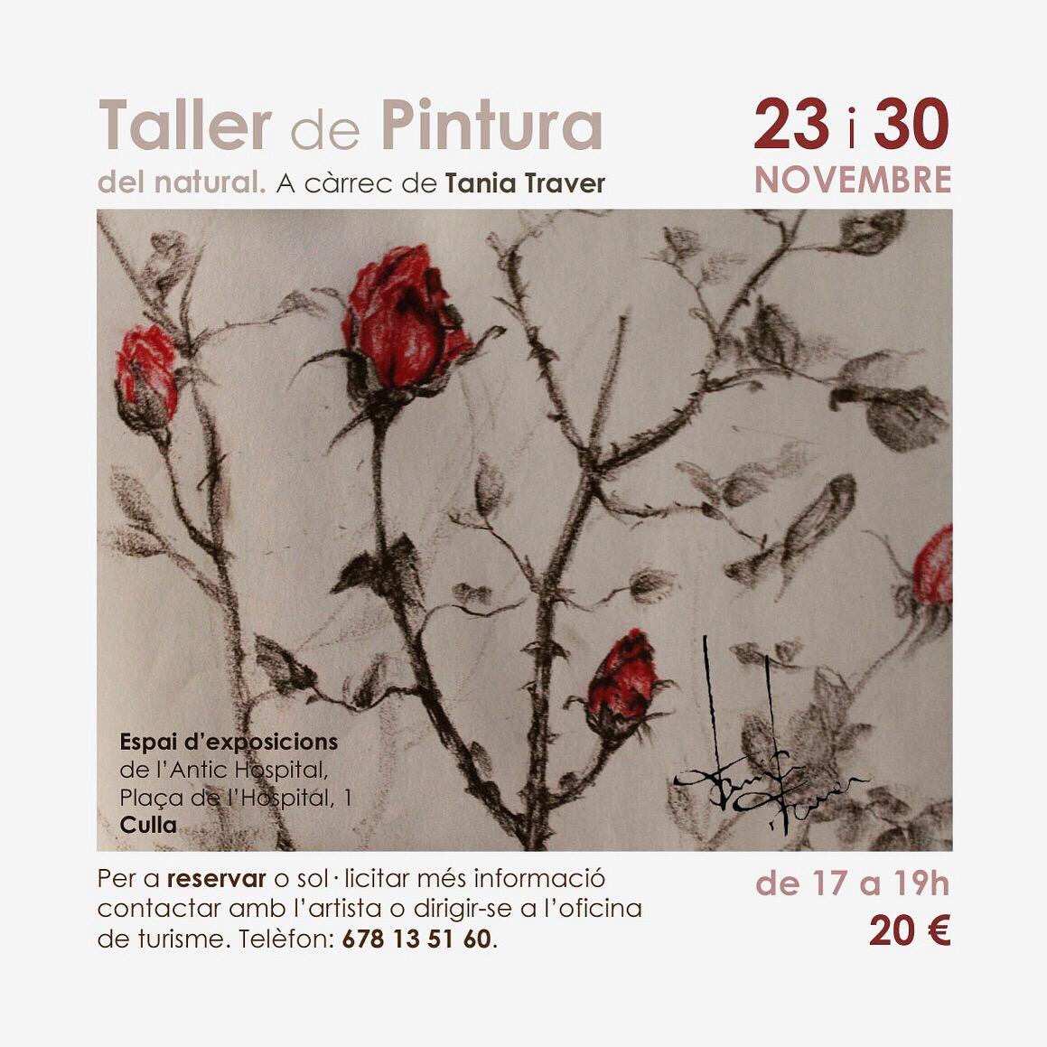 Taller pintura Culla Novembre