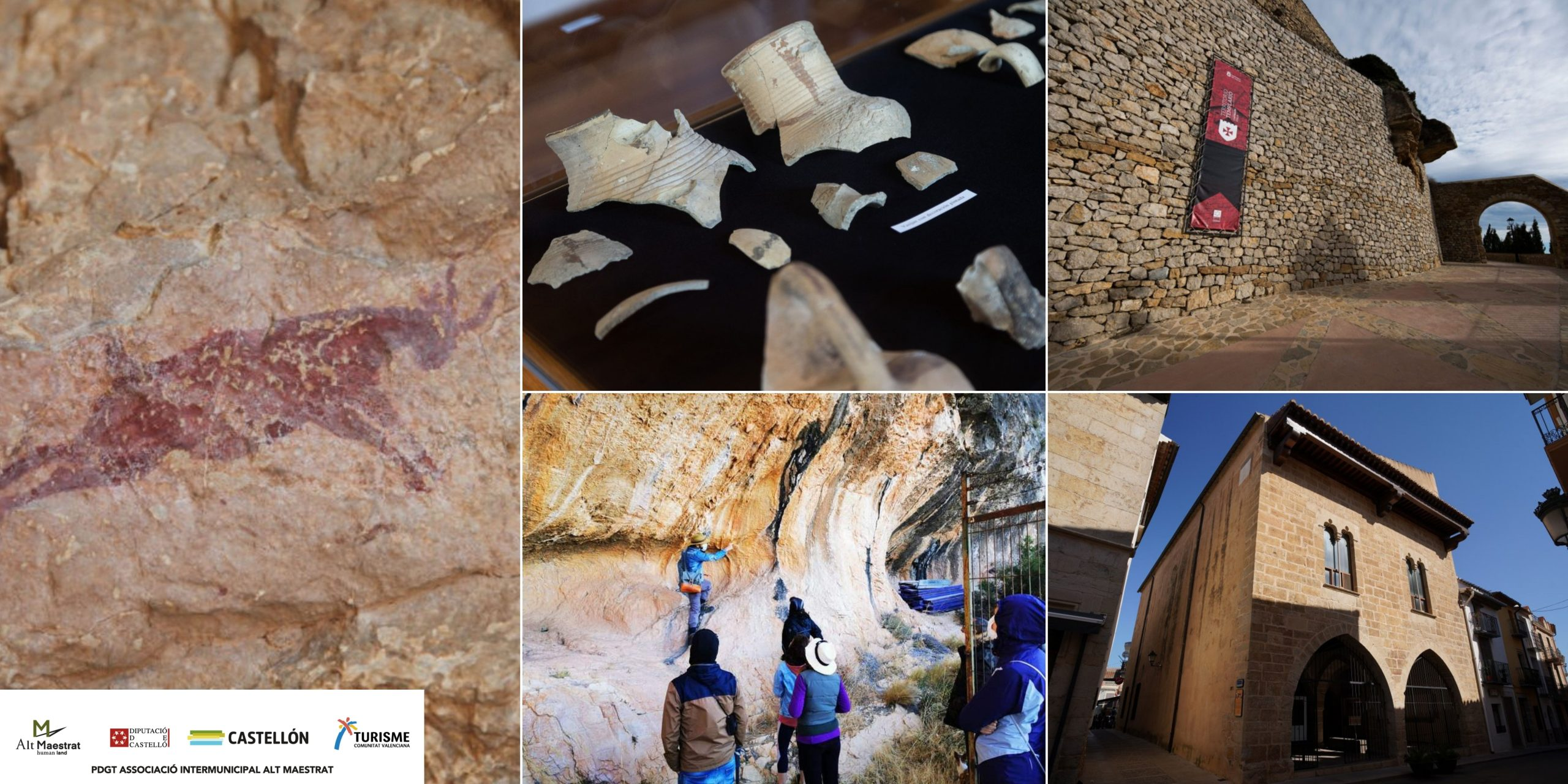 De la prehistoria a nuestros días pasando por la Edad Media